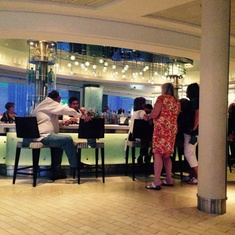 Champagne Bar/Martini Bar on Celebrity Equinox