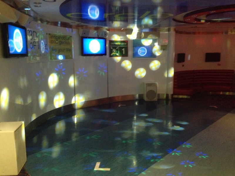 Club O2 on Carnival Pride
