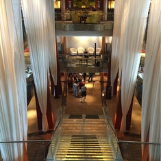 Grand Foyer on Celebrity Infinity