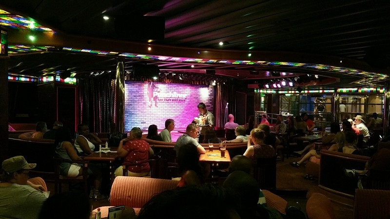Comedy Club (get there about 20 min early or you might end up standing) - Carnival Triumph