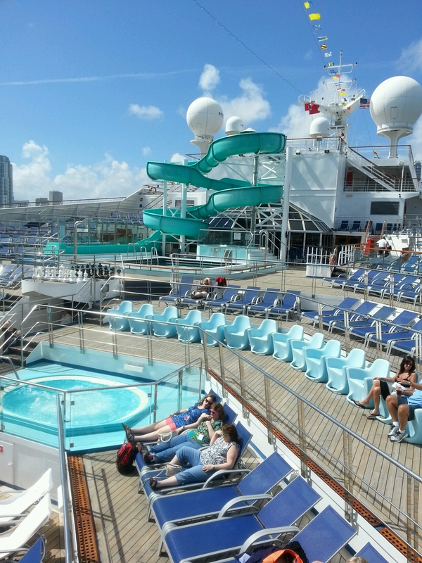 pool time - Carnival Conquest
