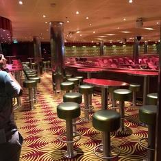 Limelight Lounge on Carnival Vista