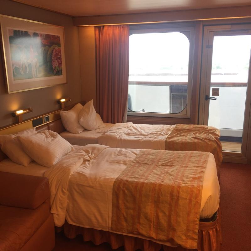 Balcony Cabin 8368 On Carnival Triumph Category 8d