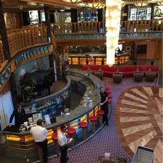 La Dolce Vita Bar and Atrium on Costa Atlantica