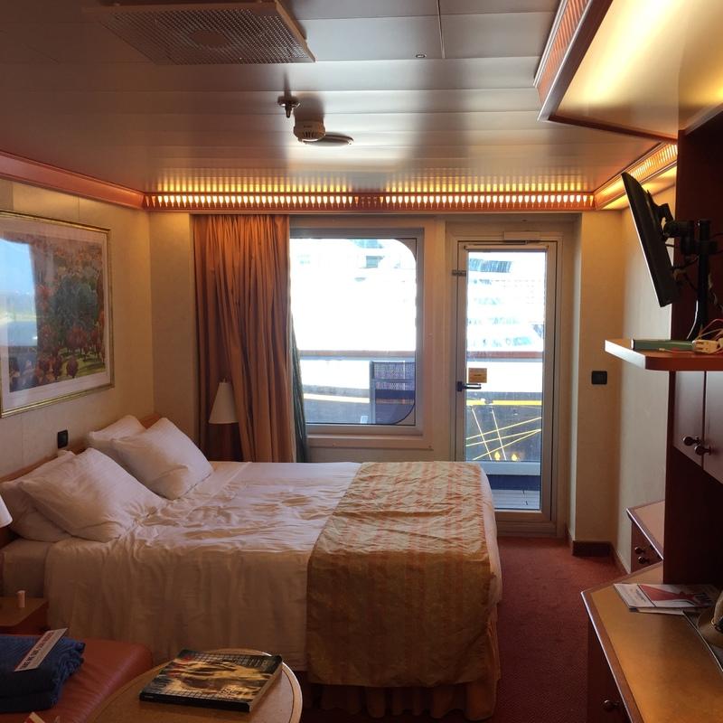 Balcony Cabin 8237 On Carnival Valor Category 8c