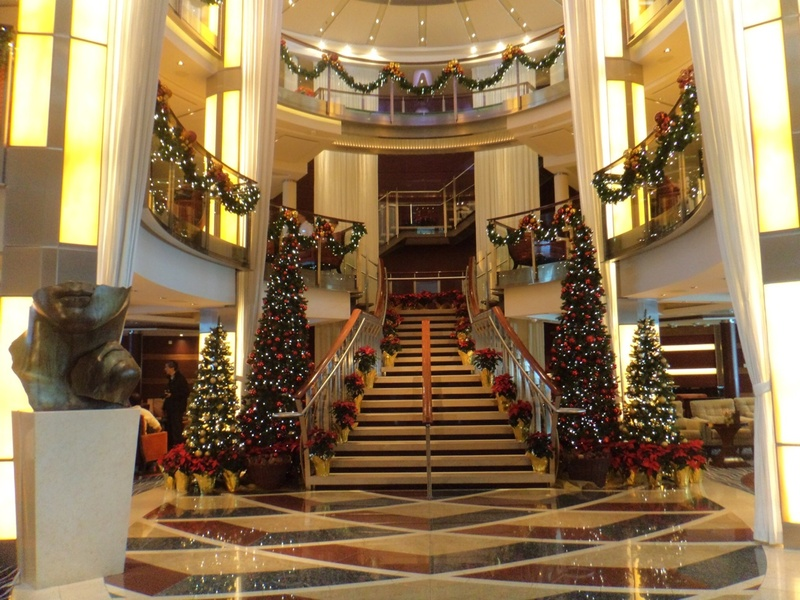 Grand Foyer on Celebrity Solstice