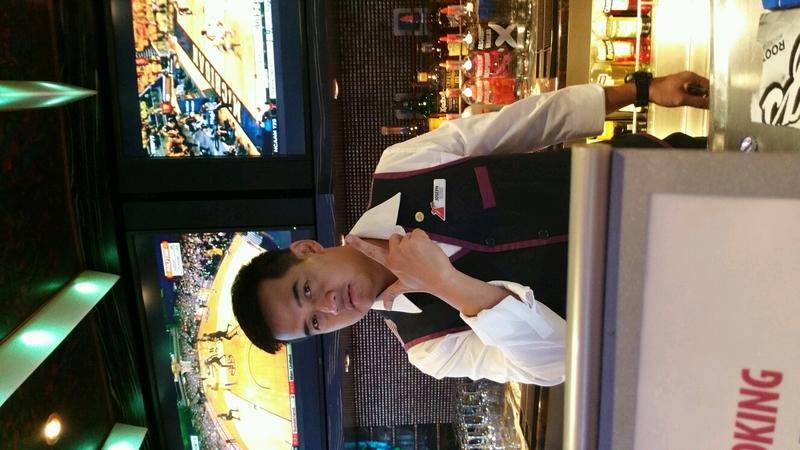 bartender Joseph - Carnival Dream