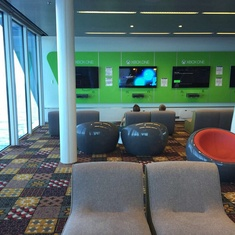 Gaming Area on Anthem of the Seas