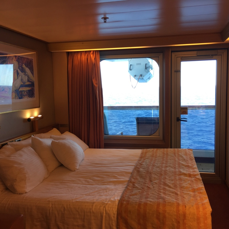 Balcony cabin 7207 on carnival triumph category 8b for Balcony on cruise ship