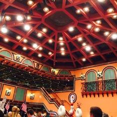 Mediterranean Lido Restaurant on Carnival Victory