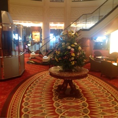 Grand Lobby on Queen Mary 2