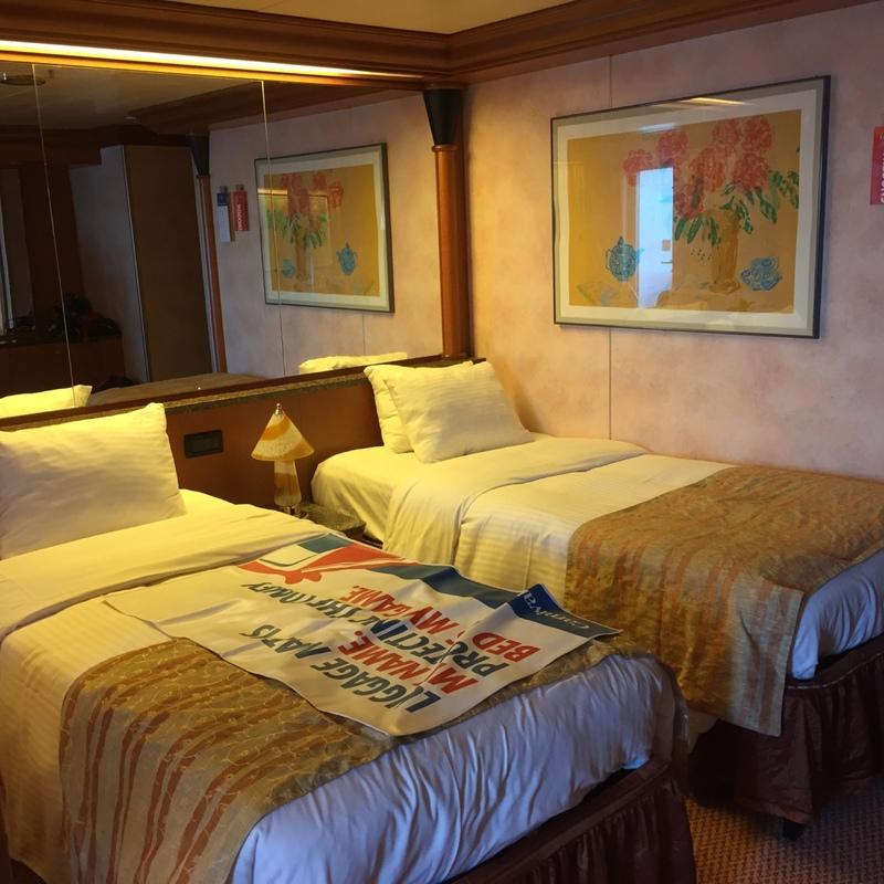 Carnival Ecstasy cabin U114