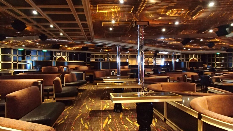 Carnival Glory, Entertainment, Ebony Cabaret Aft Lounge