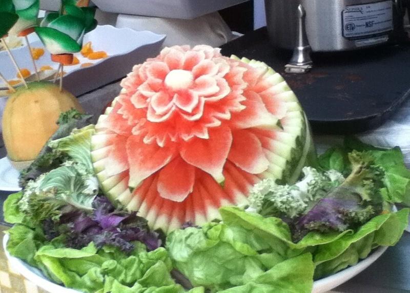 Designed watermelon! - Carnival Valor