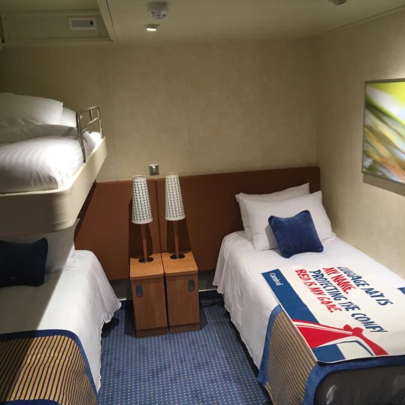 Standard Interior Cabin Category 4f Carnival Vista