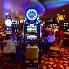 Sunshine Casino on Carnival Sunshine