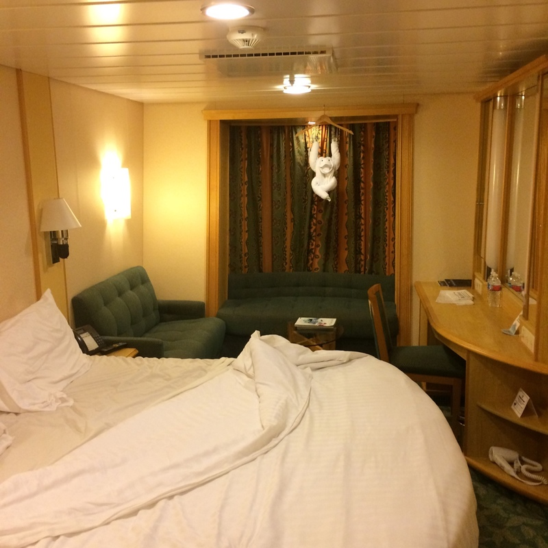 Promenade Stateroom on Liberty of the Seas