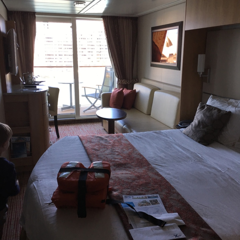 balcony cabin 7175 on celebrity solstice category 2a