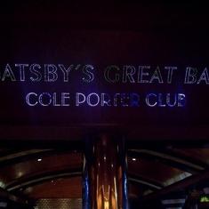 Cole Porter Club Aft Lounge on Carnival Elation