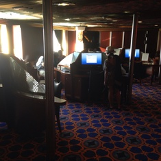 Internet Cafe on Carnival Imagination