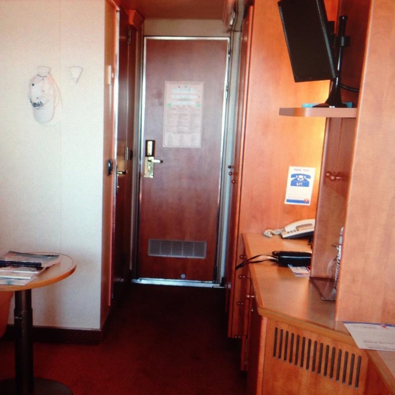Carnival Conquest cabin 8263