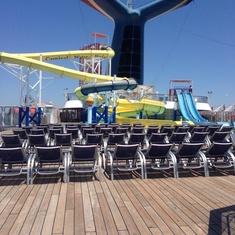 Slide Entrance on Carnival Sensation