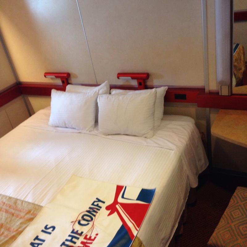 Carnival Ecstasy cabin M21