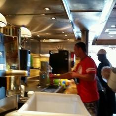 Rosie''s Restaurant on Carnival Valor