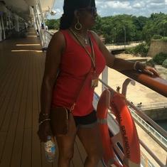 chillin on the Carnival Splendor Aug.13,2016