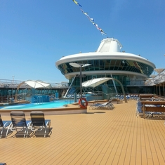 Swimming Pools on Legend of the Seas