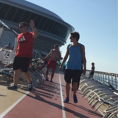 Jogging Track on Navigator of the Seas