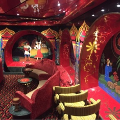 Firebird Lounge on Carnival Legend