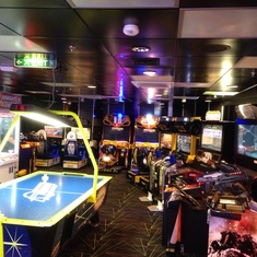Challengers Arcade on Brilliance of the Seas