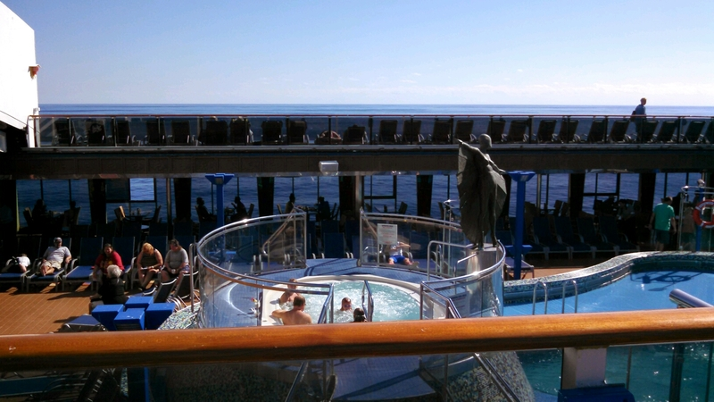 Hot Tubs on Carnival Pride