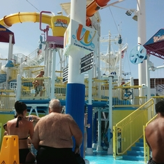 Carnival Water Works on Carnival Breeze