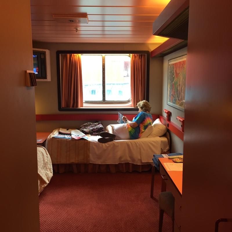 Oceanview Cabin U59 On Carnival Elation Category 6c