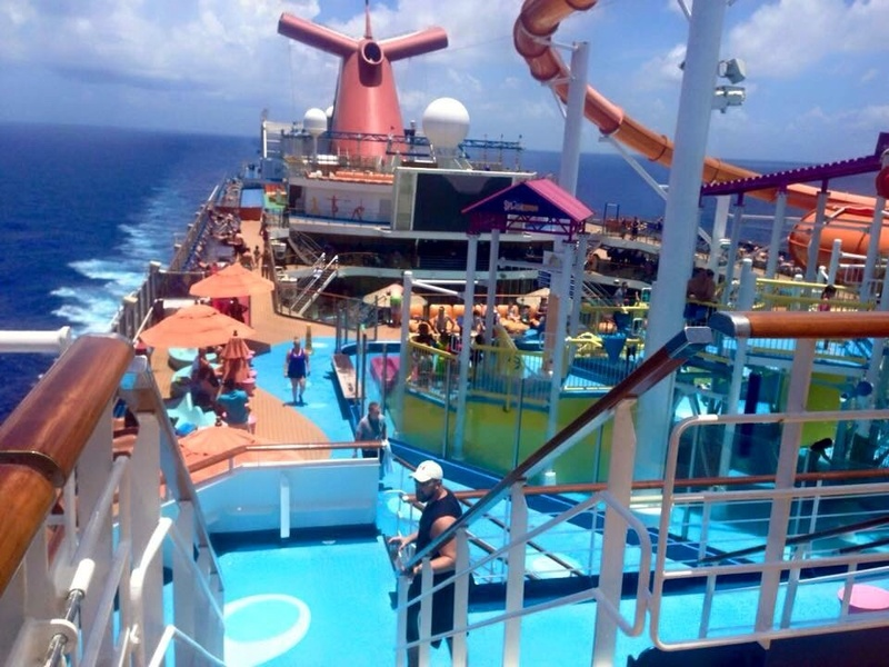 Carnival Magic, Pools, Water Works