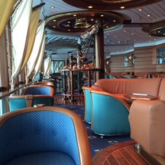 Schooner Bar on Grandeur of the Seas