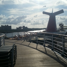 Jogging Track on Carnival Fantasy