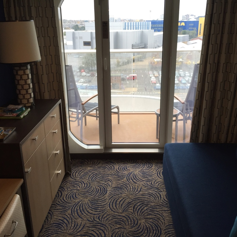 Balcony cabin 10582 on anthem of the seas category d3 for Anthem of the seas inside cabins