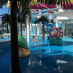 Kids'' Aqua Park on Norwegian Breakaway