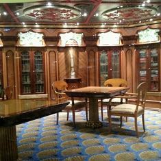Indian Library on Carnival Victory