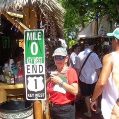 Key West, vibrant and exciting