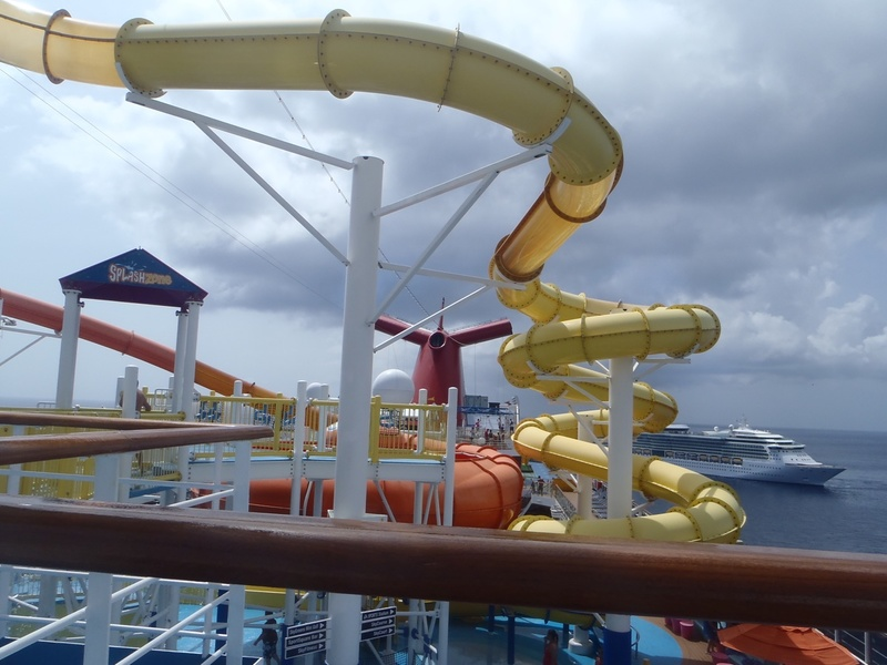 Carnival Breeze, Pools, Carnival Water Works