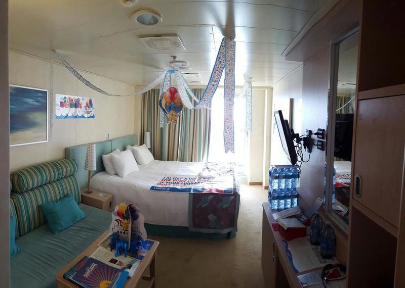 Carnival Sunshine cabin 12005