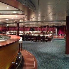 Spinnaker Lounge on Norwegian Gem