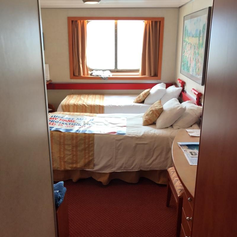 Oceanview Cabin E102 On Carnival Inspiration Category 6e