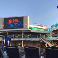 Seaside Theater on Carnival Dream