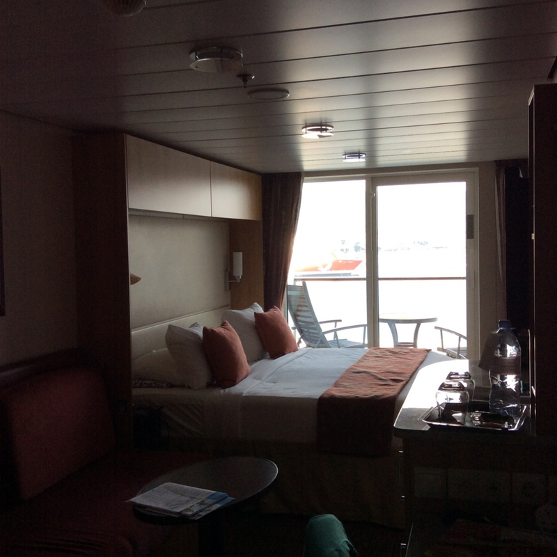 Balcony Cabin 8297 On Celebrity Silhouette Category 1c