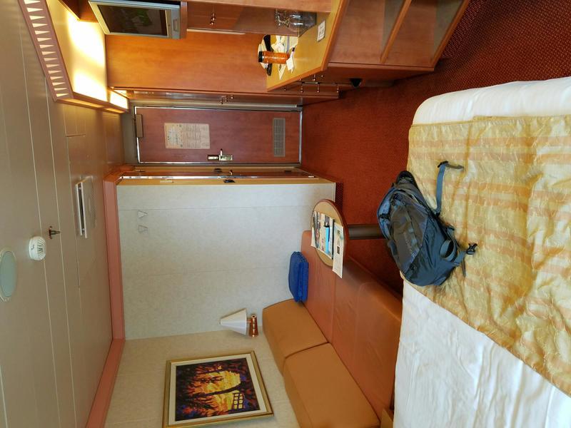 Balcony Cabin 7363 On Carnival Freedom Category 8c